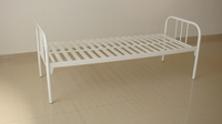 Кровать СМ 2.00.02  (с металлической рейкой)