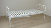 Кровать СМ 2.00.02-2/М с винтовой регулировкой и металлической рейкой